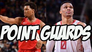 Top 10 NBA Point Guards Halfway Through The 2020 Season