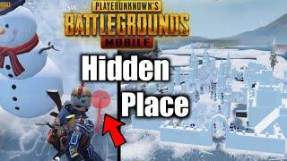 Frost Festival Hidden Place |Winter Mode Top 3 Tips & Tricks in Pubg Mobile