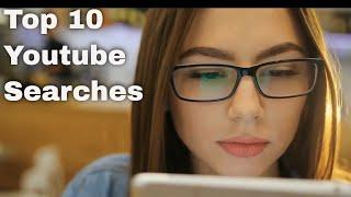 Top 10 Youtube searches in the US | by information and facts