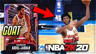 GALAXY OPAL KAREEM ABDUL JABBAR IS UNGUARDABLE!! THE BEST CENTER IN NBA 2K20 MyTEAM!!