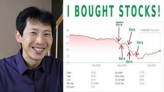 I Bought Stocks Here, Here, Here, and Here