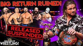 The PROBLEM With John Morrison's Return! (WWE Released THESE Superstars!)