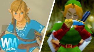 ¡Top 10 Mejores Juegos De The Legend Of Zelda De Todos Los Tiempos!