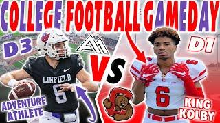 Ivy League College Football Gameday Vlog VS D3 College Football Gameday Vlog