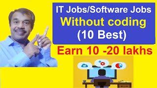 top 10 IT jobs without coding skills or programming | earn upto 10 to 20 lakhs salary | testingshala