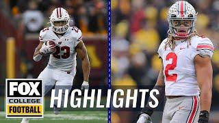 Big Ten Week 14: Ohio State & Wisconsin will face off for conference title   HIGHLIGHTS   CFB ON FOX