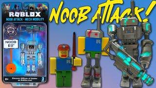 Roblox Mech Noob Attack Figure & Code Item