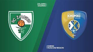 Zalgiris Kaunas - Khimki Moscow Region Highlights | EuroLeague, RS Round 18