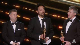 """""""1917"""" wins Best Visual Effects"""