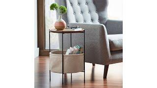Best Top 10 Round Storage End Table For 2021 | Top Rated Best Round Storage End Table