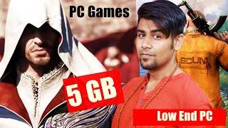 Best PC Games Under 5 GB !! - No Graphics Card Required !!