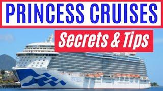 PRINCESS CRUISE SECRETS: Top 10 Tips and Tricks for Cruising with Princess Cruises