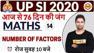 UPSI 2020 || Maths || By Mohit Sir || Class 14 || Number of  Factors