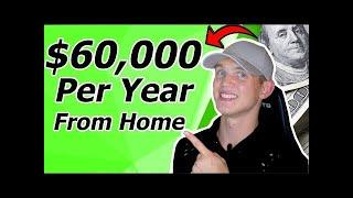 Top 10 Work From Home Jobs Make Money Online $60k Per Year