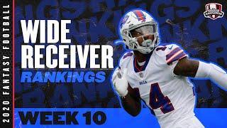 2020 Fantasy Football Rankings - Top 30 Wide Receiver in Fantasy Football - Week 10