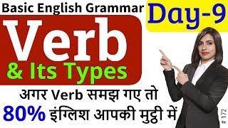 Verb | Main Verb & Helping Verb/Auxiliary Verb |Basic English Grammar