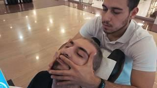 ASMR  Chair Massage | Face Massage | Head Massage | Professional Massage