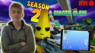 FORTNITE MOBILE - ARENA GRIND!! / Mobile TFUE / 4 FInger CLAW (HANDCAM) iPad Air 3