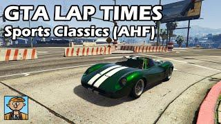 Fastest Sports Classics (AHF Retesting) - GTA 5 Best Fully Upgraded Cars Lap Time Countdown