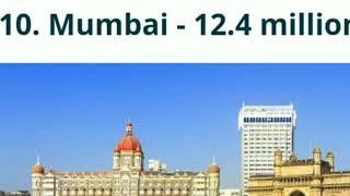 Top 10 biggest city in the world |  दुनिया के 10 सबसे बड़े सहर