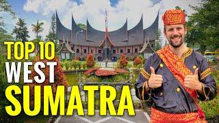 Top 10 West Sumatra Indonesia – Best Things to do – The Highlights – Best Attractions [Travel Guide]