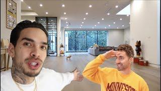 SHOWING MY FRIEND MY NEW LA MANSION