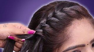 top braid juda hairstyle for girls || hair style girls || easy hairstyles 2020