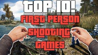 TOP 10  First Person Shooting/Shooter Games  FPS Games  @VPGT