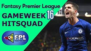 FPL GAMEWEEK 16 SQUAD TOP PICKS | FANTASY PREMIER LEAGUE | GW16 TEAM TIPS