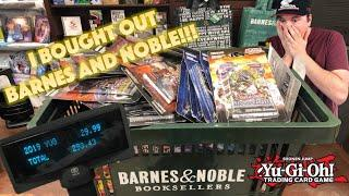 "*BEST BARNES & NOBLE YUGIOH ""BUYOUT"" EVER!* I BOUGHT EVERYTHING! BOOSTER PACK OPENING EXTRAVAGANZA!"