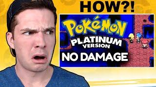 PokéTuber Reacts to Beating Pokemon Platinum Without Taking Damage