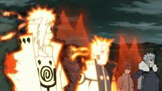 "Minato Naruto ""Father and Son"" Moments in the Narutoverse, Naruto Meets Different Forms of Minato"