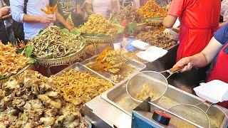 Philippines Street Food in Manila Chinatown Walk | MASSIVE Street Food in Binondo, Manila!
