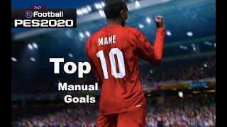PES 2020 Top 10 Manual Goals HD#10 (Legend Level)