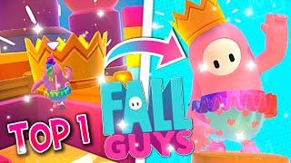 NOTRE PREMIER TOP 1 SUR FALL GUYS ! FALL GUYS BATTLE ROYALE FR