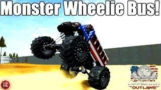 OffRoad Outlaws: MONSTER WHEELIE BUS BUILD!!