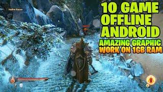 Best Top 10 OFFLINE HIGH GRAPHIC GAMES ANDROID IOS Work On 1Gb Ram