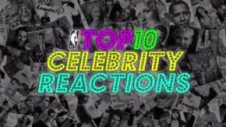 Top 10 NBA celebrity react
