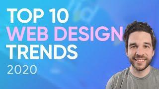 Top 10 Web Design Trends 2020