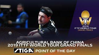 Rocket Fuel Rally! Timo Boll wins Best Point of Day 1 | 2019 ITTF Grand Finals