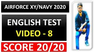 #8 Top 10 English grammar Questions by Ramsir  |Airforce XY,NAVY SSR AA