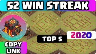 COC TH10 LEGEND + WARBASE with COPY LINK!! Unbeatable & BEST COC TH10 BASE 2020 anti 2 star & 3 star