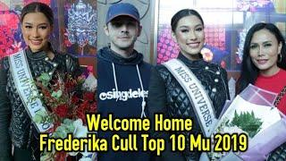 Welcome Home Frederika Cull Top 10 Miss Universe 2019