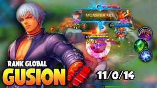 Top Global Gusion , Perfect Dagger   Combo , Fast Hand | Gusion Best Build | Gusion Gameplay | MLBB✓