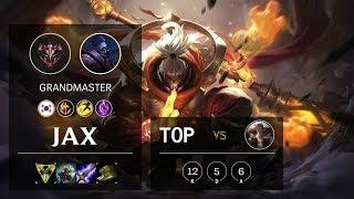 Jax Top vs Sett - KR Grandmaster Patch 10.5