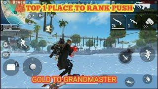 Top 1 hidden place-  How to push our Rank in free fire- Top hiding place in new poetry map