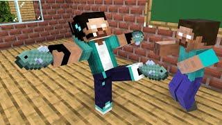 Monster School : Herobrine team is the best - Funny Minecraft Animation