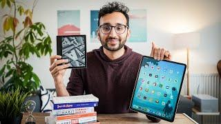 The BEST Way to Read - Kindle vs iPad vs Books vs Audiobooks