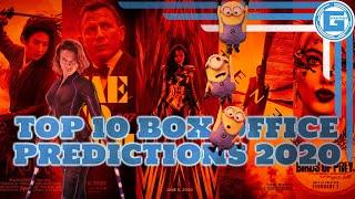Top 10 Predictions for the Worldwide Box Office 2020