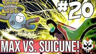 POKEMON PLATINUM RANDOMIZER #20 - MAX VS. SUICUNE!